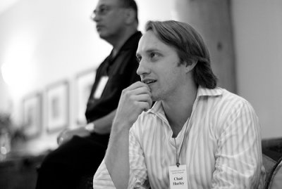 chad hurley registers the trademark logo and domain of youtube on valentines day 2005 22 bước ngoặt trong lịch sử phát triển Youtube